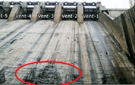Cavitation Damage to Concrete Structures -Dams