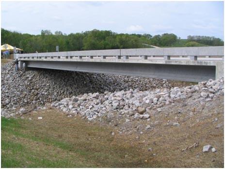 UHPC used to Construct Bridge Structure