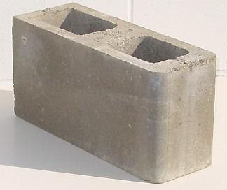 Bull Nose Concrete Block
