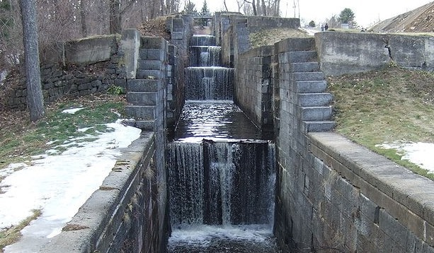 Stepped Canal Falls