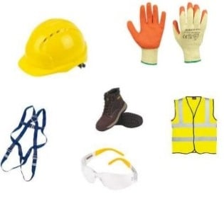 Safety Procedures at Construction Site - PPEs