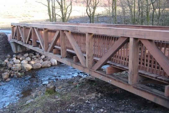 Types of Bridges based on Materials - Timber Bridge