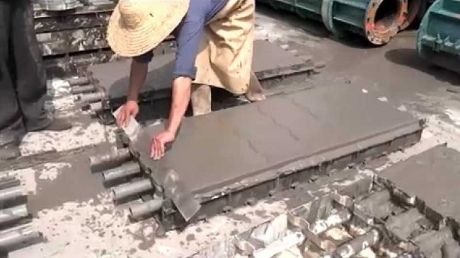 Production of Cellular Lightweight Concrete