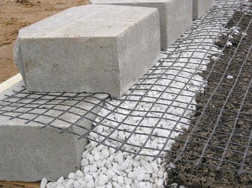 Geogrid Segmental Retaining Wall
