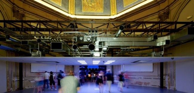 Interstitial Ceiling Space Arrangement
