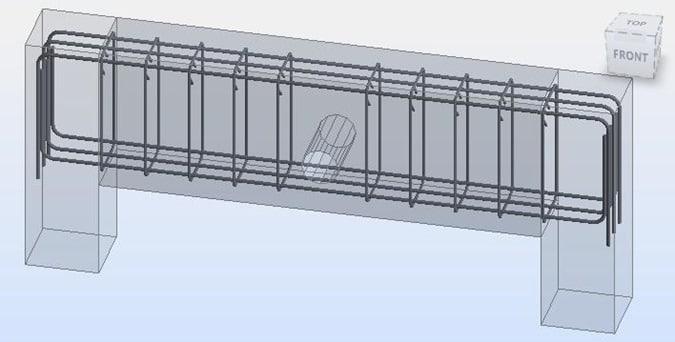 Openings in Concrete Beams