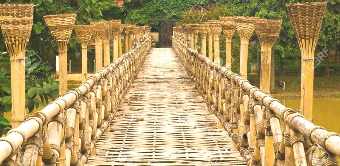 Bamboo as a Building Material in Bridges
