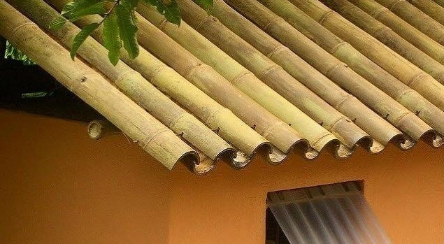 Roofing with Bamboo as a Building Material