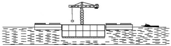 Offshore Structure Construction in Dry Docks or Graving Docks