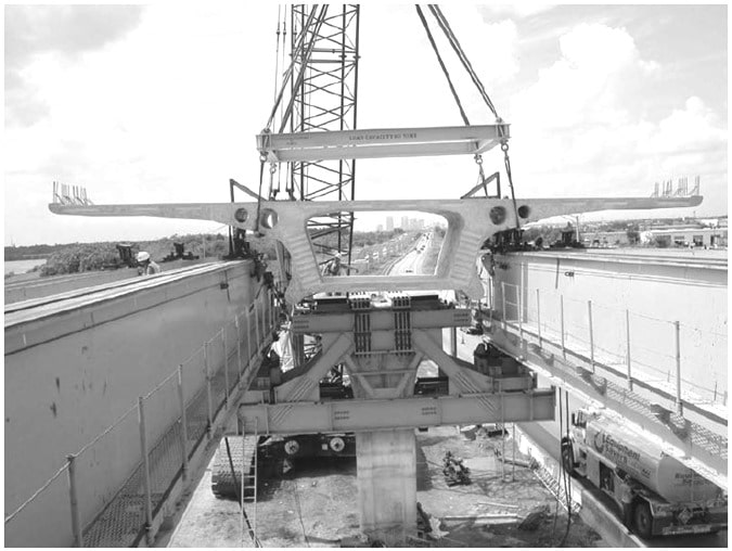 Unique Box Shaped Prestressed Concrete Bridge