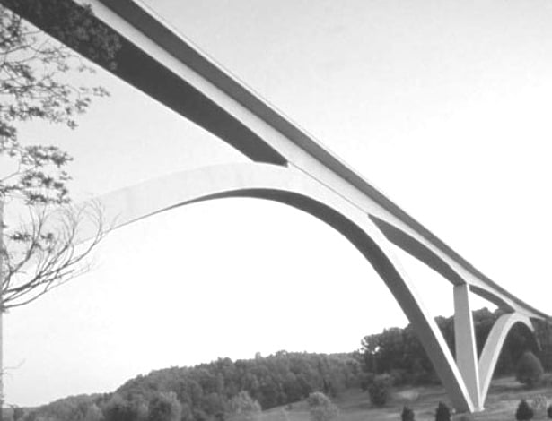 Natchez Trace Parkway Arches Bridge