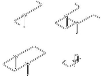 Types of Adjustable Pintle Tie Used in Masonry Structure