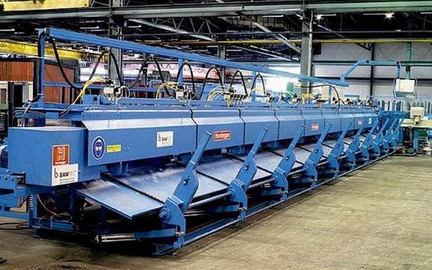 BAMTEC Carpet Reinforcement Production Machine