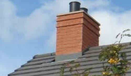 Chimney in Buildings using Heat Resisting Refractory Concrete