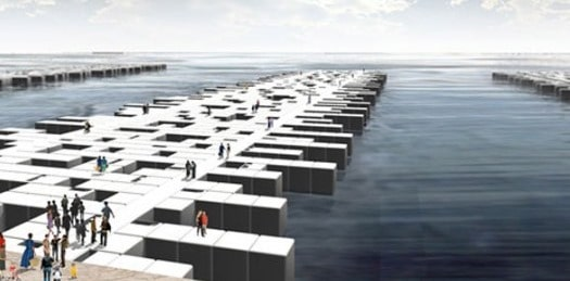 Floating Pier Structure