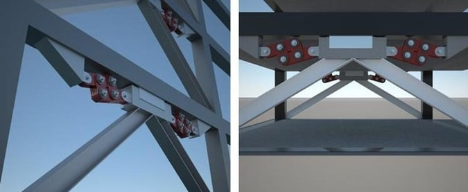 Friction Damper in Cable Supported Bridge