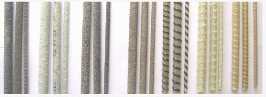 Various Types of FRP Bars for Masonry Structures