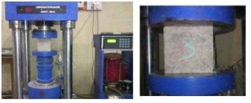 Geopolymer Concrete Compressive Strength Test