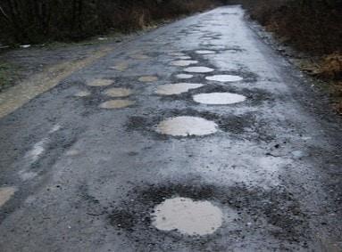 Potholes in Flexible Pavements