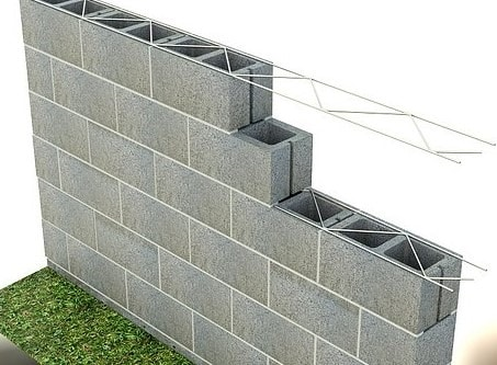Reinforcement Placement in Masonry Wall