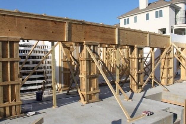 Wooden Concrete Formwork Design Criteria with Calculation Formulas