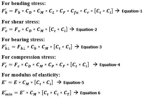 Wooden Formwork DesignCalculation Formulas for Concrete