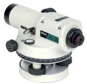 Automatic Level for Measurement of Angles and Elevation
