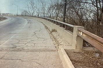 Cracked Bridge Deck
