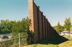 Sound Barrier Masonry Wall