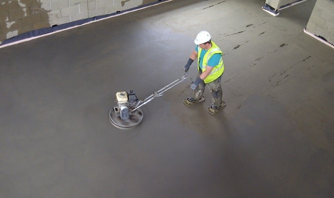 Concrete Screed in Construction