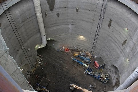 Shaft Method of Tunnel Construction
