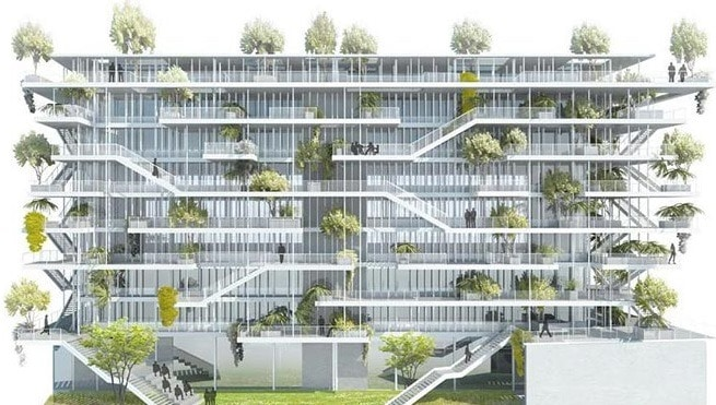 Site Selection for Green Office Building based on LEED System