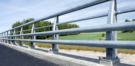 Parapets and Handrails/ Guard Rails or Curbs