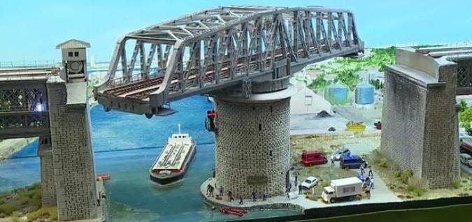 Swing Bridge -Types of Movable Bridges