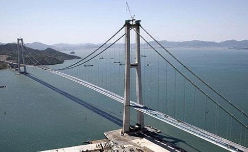 Towers of Suspension Bridge