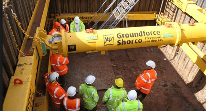 Movable Excavation Supports for Trench and Foundations