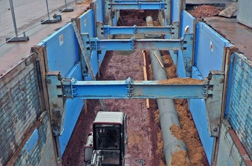 Sliding Panels Movable Excavation Support