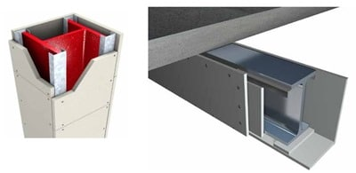 Boarded Fire Protection System Used for Structural Steel