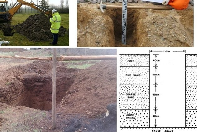 How to Set Up Proper Layout of Trial Pits for Site Investigation? What are the Purpose of Trial Pits?