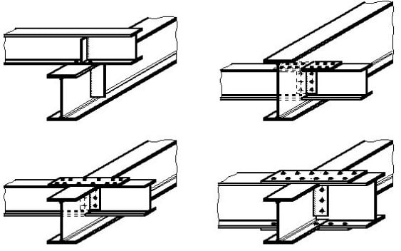 Types of Steel Beam Connections