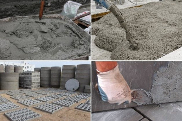 Uses of Cement