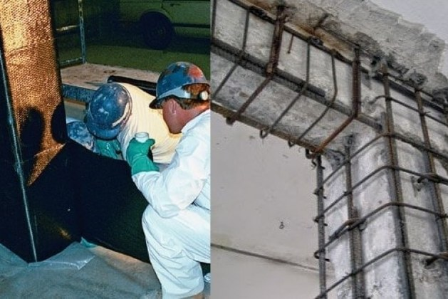 Cost of Reinforced Concrete FRP Strengthening System and other Methods