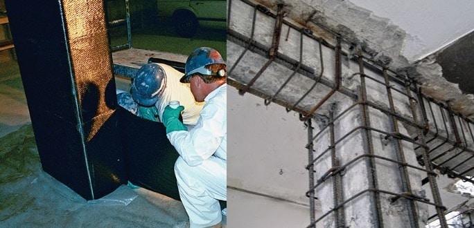 Reinforced Concrete FRP Strengthening System