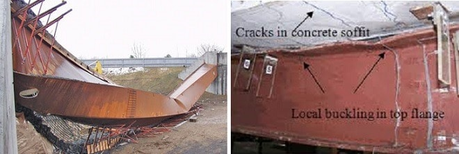 Failure Caused by Steel as a Construction Material