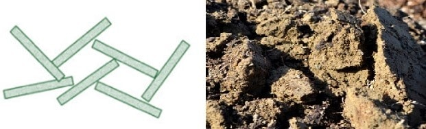 Flocculated Soil Structure