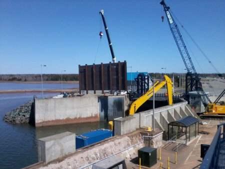 Use of High Alumina Cement in Marine precast construction.