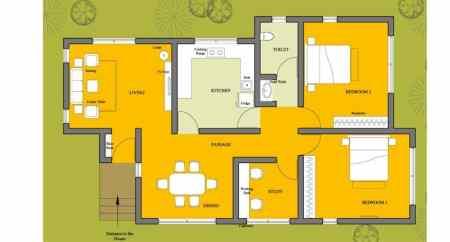 2D Floor Plan.