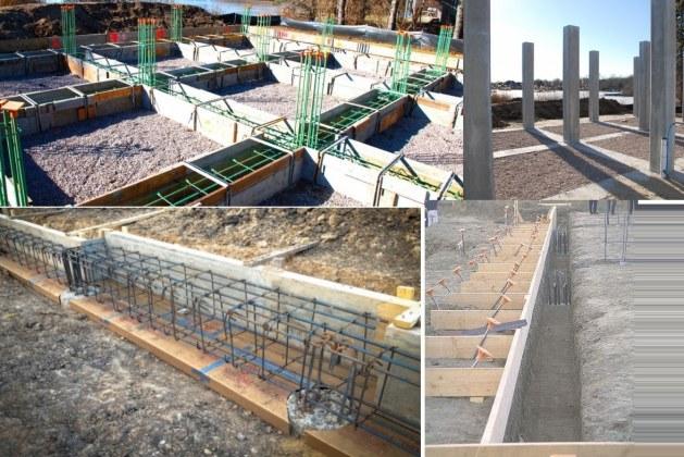 Concrete Grade Beam Construction Process