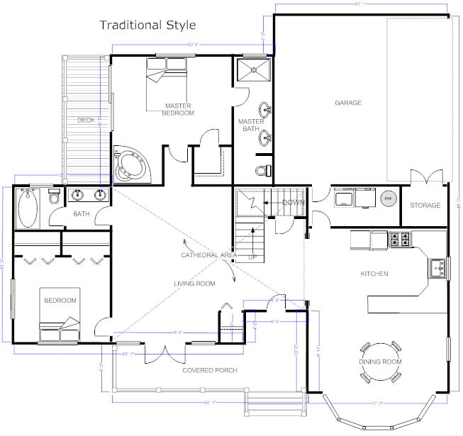 Different Types of Building Plans