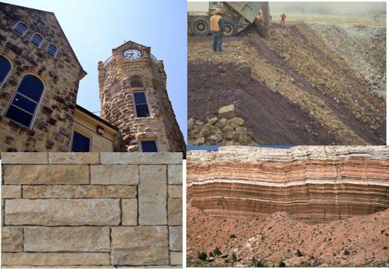 Uses of sedimentary rocks in civil engineering